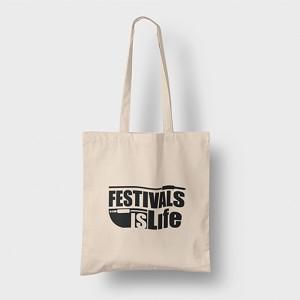 Tote bag Festivals is Life