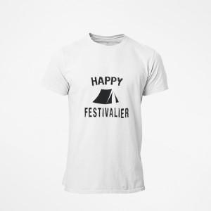 T-shirt Happy Festivalier -...