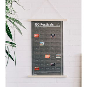 Poster 50 festivals