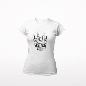T-shirt Festival Addict -...