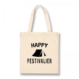 Tote bag Happy festivalier