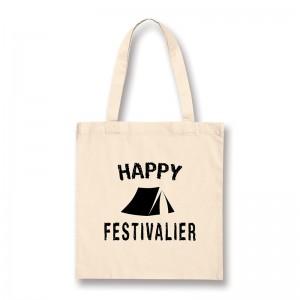 Tote bag Happy festivalier