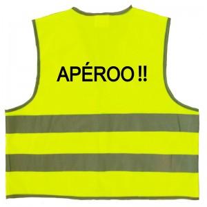 Gilet jaune Apéroo!!