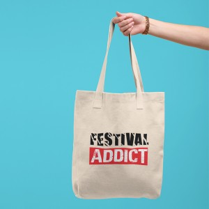 Tote bag Festival Addict