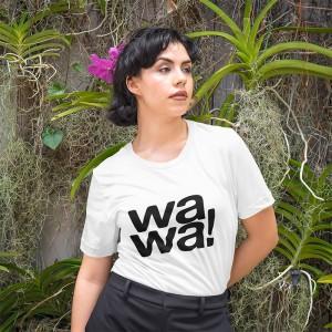 t-shirt wawa blanc