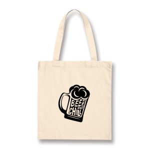 Tote bag Beer and Chill