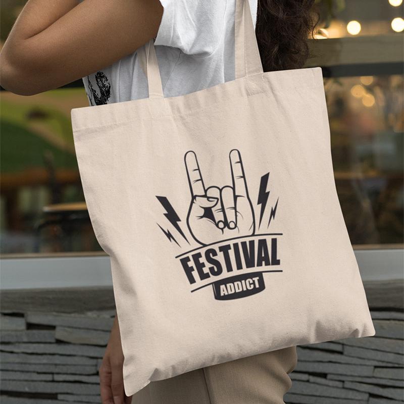 Tote bag Festival Addict