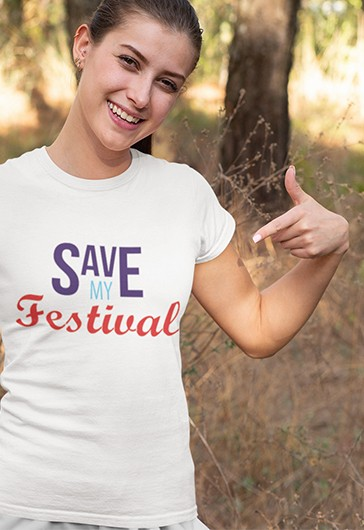 T-shirt Save My Festival