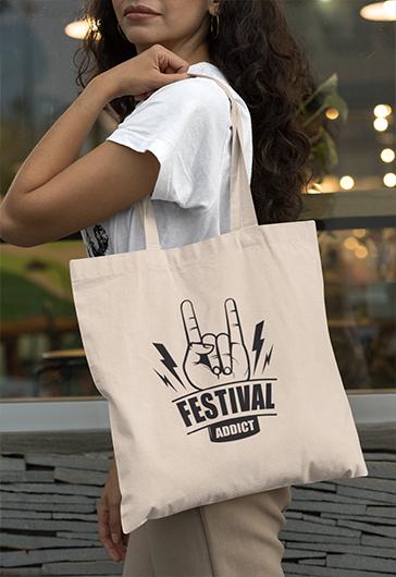 Tote Bags Festival Addict